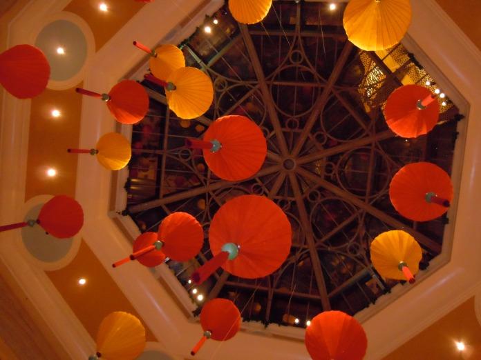 florating lanterns