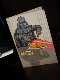 coolest Darth card ever