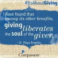 Giving is....