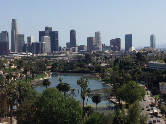 Los Angeles downtown skyline
