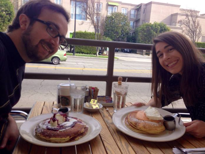 A&A with pancakes