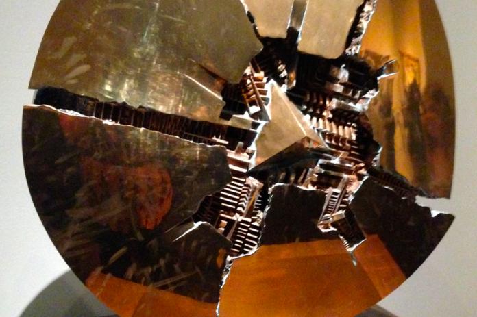 Bronze Broken Disk